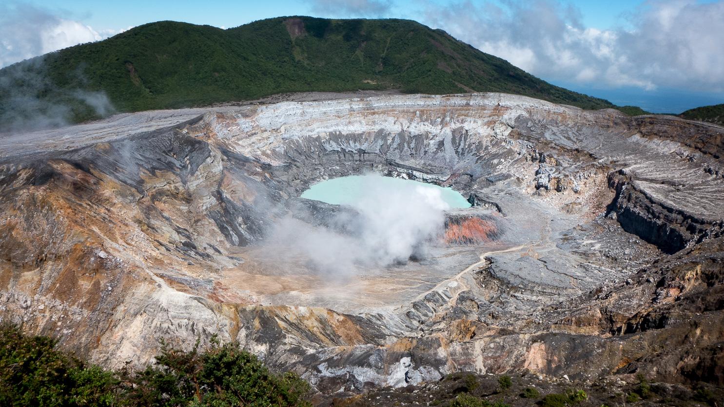 Vulkan Poás im Parque Nacional Volcán Poás, Costa Rica