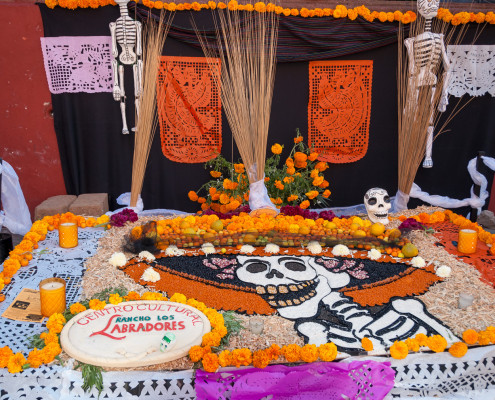 Día de los Muertos: Altar am Jardin