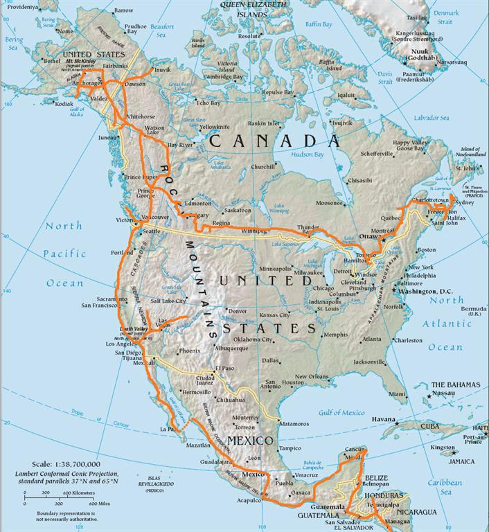 Also etwa 15.000 km »Anreise« über fünf Zeitzonen hinweg, einmal ...